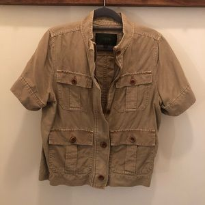 J.Crew safari shirt